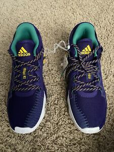 D.O.N ISSUE 2 Purple/green/yellow size11
