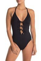 La Blanca Swimwear Island One Piece Swimsuit LB9EE29 Black 12