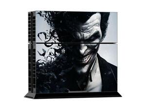 PS4 Game Console Skin Sticker Joker Vinyl Decal Skin Sticker in Black