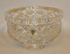 Waterford Crystal Cut Glass Isles Collection 10 Inch Footed Bowl in Box 109090