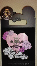 DISNEY PIN Pirate Princess Heart, Skull & Roses