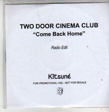 (BT685) Two Door Cinema Club, Come Back Home - DJ CD