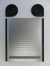 camping-car Tambour porte, roulettes VW T4, T5, 650mm x 500mm Argent