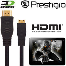 PRESTIGIO MultiPad 7, 8, 9.7 Tablet Android HDMI Mini a TV HDMI 5M Cavo Di Piombo