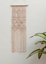 Handmade Macrame Wall Hanging Woven Wall Art Macrame Tapestry Bohemian Decor 95