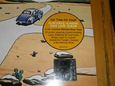 Eric Clapton - One More Car Live CLEAR TRIPLE VINYL SEALED RSD 2019 Exclusive