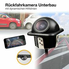 Auto Mini HD Rückfahrkamera 170° PAL dynamische Parklinien Hilfslinien 520 TVL