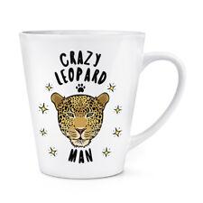 Pazzo Uomo Leopardo 341ml Latte Tazza - Divertente Animale