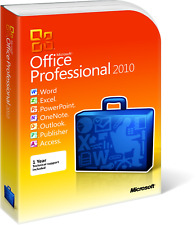 Genuine Microsoft Office 2010 Professional Plus
