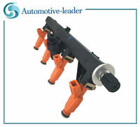 Fuel Rail&Fuel Injector For Alfa Romeo GTV Spider 145 146 1.8L 2.0L 147 166 2.0L