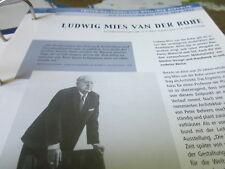 Deutsche histoire 1914-1933 Ludwig Mies van der Rohe 1886.1969 architecte