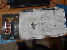 Krome Werks Marker Light Baron Mini Twin Red Custom Harley Davidson DS-280151