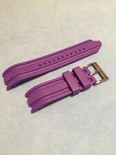 Cinturino Originale Gomma Nautica A14606G Viola con Fibbia