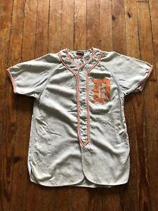 Vtg Antique MacGregor Baseball Jersey Wool Uniform 40s 50s