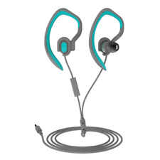 Mucro Sports Earhook Headphones Sweatproof in Ear Headphone Workout Earphone