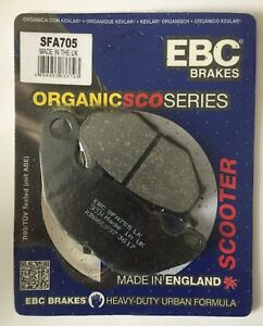 EBC Organic FRONT Disc Brake Pads Fits YAMAHA YP125R X-MAX (2018 to 2020)