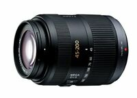 Lumix Panasonic Telephoto Zoom Lens Micro Four Thirds G Vario 45-200Mm / F4.0-5.