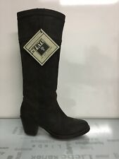 FRYE Size 5.5 US Narrow Toe Women's Brown Leather Tall Boots