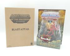 MotU Masters Classics Snake Men BLAST ATTACK Action Figure Mailer - MISB Neu/OVP
