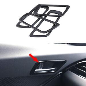 For Toyota C-HR 2016-2021 Black Car Inner Door Handles Cover Trim Frame
