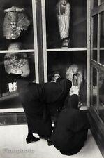 1950 Vintage EGYPTIAN MUSEUM Women Artifacts Cairo 16x20 ~ HENRI CARTIER-BRESSON