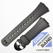 CASIO black rubber watch band for DB-E30, 10090624