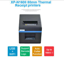WIFI + USB Thermal Printer Receipt Barcode Printer IOS Android 80mm