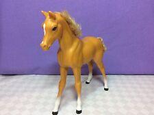 1983 Barbie Dream Cavallo/Puledro. Dixie, Palomino con capelli ricci + coda, L3.