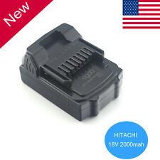 New 18V 2.0Ah Lithium Ion Battery for Hitachi BSL1815X BSL1830 BSL1840 330139