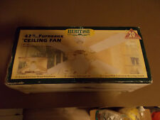 HERITAGE 42 INCH FURNEAUX CEILINFG FAN BRAND NEW IN BOX