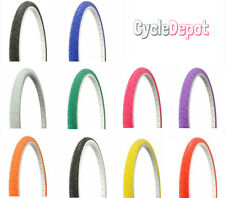 "Duro 26"" x 1.50"" BlCYCLE TlRE VlPER SLlCK BlKE FIXIE ALL COLORS *BEST PRICE*"