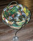 Longaberger 2007 John Deere Basket With Liner. Protector and Pewter Tie On