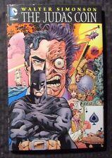 2012 THE JUDAS COIN by Walt Simonson HC/DJ NM/VF 1st DC Batman vs Two-Face