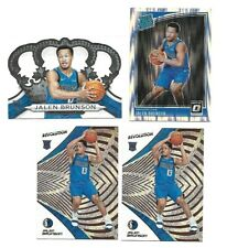 2018 Panini Revolution, Optic, Crown Royale (4 CARD LOT) Jalen Brunson Rookies !