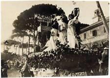 Fiuggi Palazzo della Fonte Frosinone Sfilata Foto originale gelatina 1920c S380