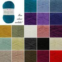 King Cole Majestic DK Knitting Yarn Double Knit Wool Crochet 50g Ball