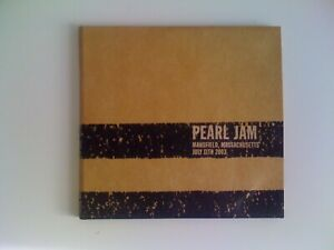 PEARL JAM - Mansfield, Massachusetts July 11th 2003 3CD