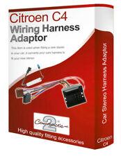 Citroen C4 CD Radio Estéreo Cableado Cable Adaptador Iso Adaptador