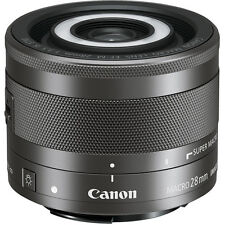 New Canon EF-M 28mm f/3.5 Macro IS STM Lens