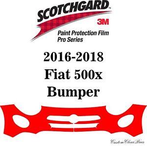 3M Scotchgard Paint Protection Film Pro Series Clear 2016 2017 2018 Fiat 500x