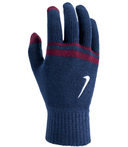 Nike Gloves Mens Large XL Authentic Cold Weather Knit Silicone Grip Touchscreen