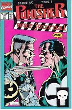PUNISHER WAR JOURNAL #35 1991 MARVEL  by STAN LEE BARON/WAGNER -MOTIVATION...VF-