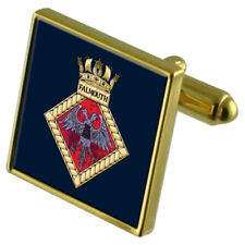 Royal Navy Falmouth Gold-Tone Cufflinks
