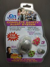 OnGuard Kids Safety Alert System Watch Emergency Alarm with DVD Clear/Silver