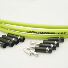 Jagwire Genuine Set Brake Gear Front Rear Inner & Outer Bike Cables Bicycle Green
