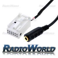 Audi A4 A5 Q5 Aux Input Adaptor Audio Interface Converter Lead 3.5mm Jack Socket