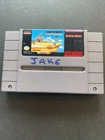 Road Runner's Death Valley Rally Super Nintendo Snes Cleaned Tested Authentic