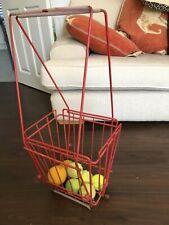 Fab Vintage HOAG Tennis Ball Collection Pick-Up Basket (50 Ball Capacity)