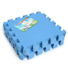 3 Color Blue 9pcs EVA Eco Soft Foam Interlocking Foam Floor Mat Puzzle Hot New