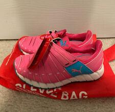 NIB PUMA Girls OSU Jrs Sneaker Pink / Blue Size US 12.5 / Eur 30